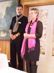 Ingrid Hans Danielsen vielsesaftner 2010